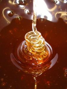 Exportação de mel