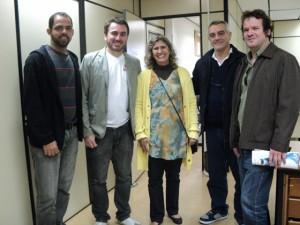Equipe da UNISOL e do MDA
