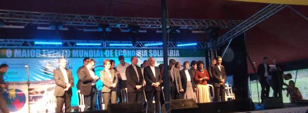 Evento, que contou com a participação de representantes da Unisol Brasil, foi visitado por cerca de 200 mil pessoas de vários países