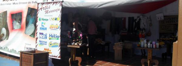 Foi a segunda vez que os artesãos de Maracaju (MS) expuseram seu trabalho fora da cidade