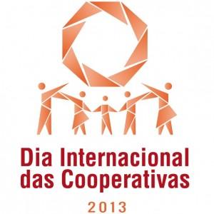 Logotipo da Aliança Internacional de Cooperativas para celebração da data