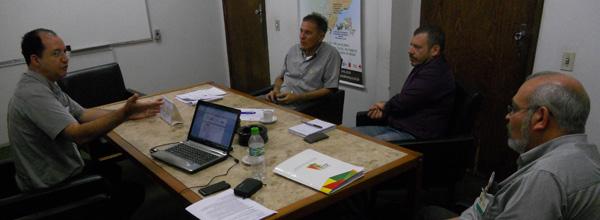 Visita contou com presença do secretário geral da UNISOL Brasil, Gilson Gonçalves
