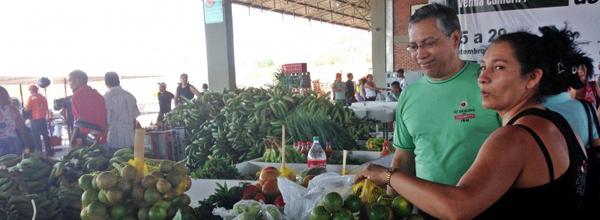 Evento contou com a participação de 25 empreendimentos ligados à Unisol (Foto: Divulgação / Governo do Acre)