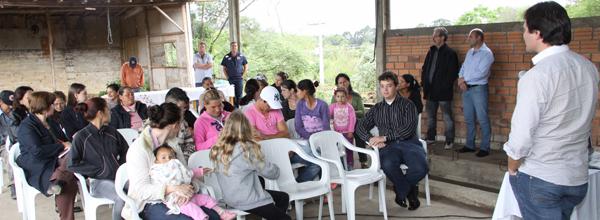 Participaram do encontro trabalhadores da Recivida, catadores independentes da cidade e uma representante da Assecrejo