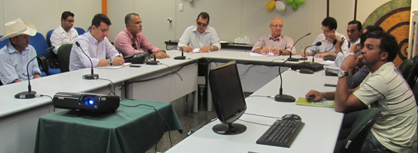 Técnicos abordaram questões relevantes para a agricultura orgância estadual