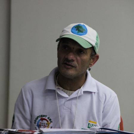 O presidente da Coopercata, Armando Octaviano Júnior