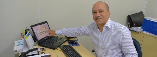Aguinaldo Luiz de Lima, consultor para a área contábil da UNISOL Brasil