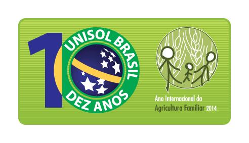 Selo homenageia o dez anos de fundação da UNISOL Brasil e também o Ano Internacional da Agricultura Familiar