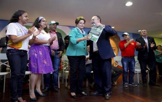 Dilma e CONTAG