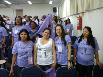 Congresso Catadoras Marineide Alves grupo