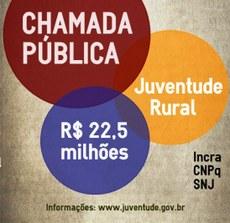 Chamada pública juventude rural