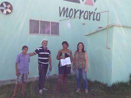 Membros da Unisol Mato Grosso na comunidade Quilombola de Capão Verde (AC)