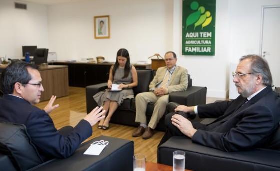 _Reunião MDA c países latinos Agricultura Familiar