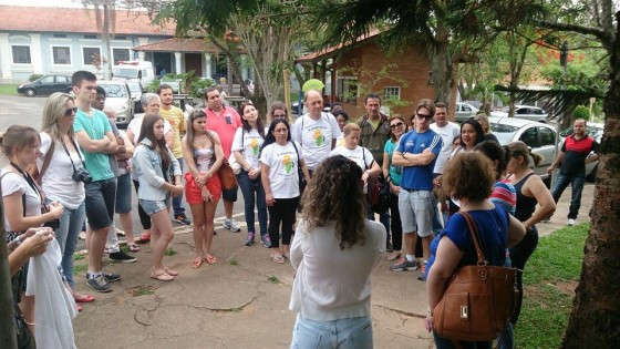 Serviço de Saúde Dr Cândido Ferreira grupo visitante