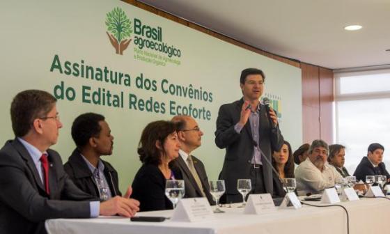Governo convenios agroecologia