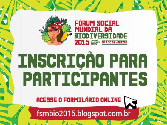 Inscrição para participantes