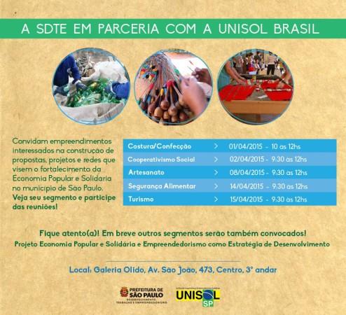 STDE e UNISOL BRASIL banner