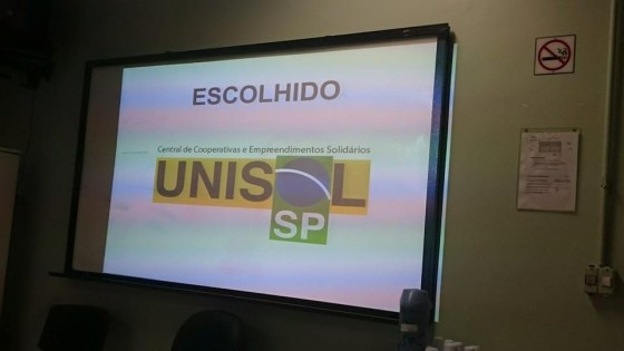 Logomarca da Unisol São Paulo.