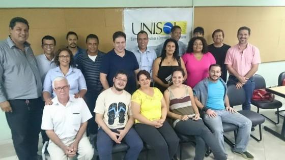 UNISOL SP Planejamento reuniao diretoria estendida toda equipe