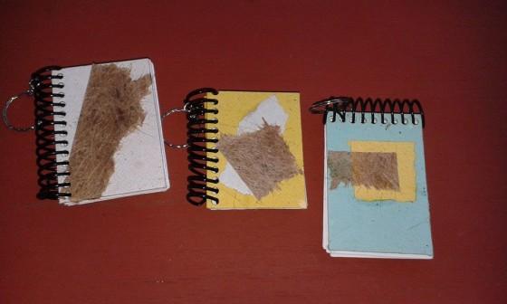 Cadernetas recicladas COOPERTANE
