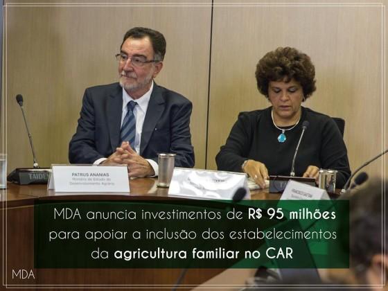 MDA medidas agricultura Patrus Ananias e Izabella Teixeira