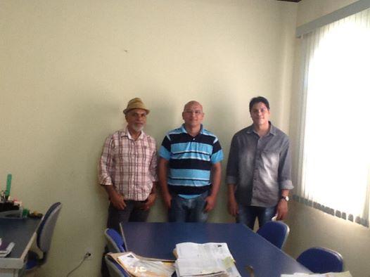 Geraldo  Luciano e Secretario de Desenvolvimento Rural de Nsa Senhora Livram