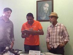 Pocone Geraldo e PRONTUR com Chefe de Gabinete