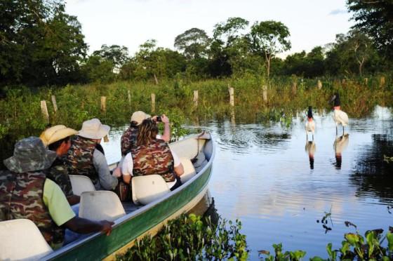 SEDTUR turistas no Pantanal