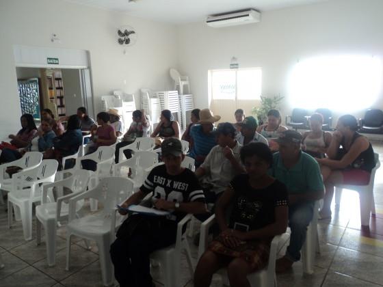 Catadoras da cidade de Rio Verde (MS) em atividade da Unisol Brasil.