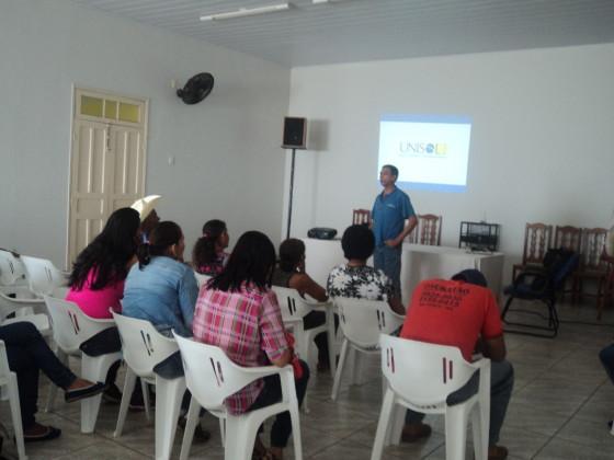 Atividade da Unisol Brasil em Rio Verde do Mato Grosso (MS). Crédito: Ari Soares
