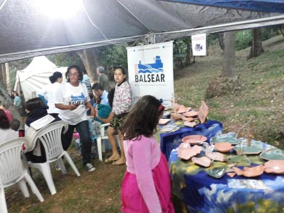 Festa da Colônia Pescadores da Represa Billings com a participação pela primeira vez dos EESs. Crédito: Elisabete Rocha.