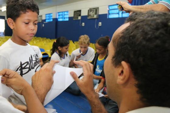 FALA COOP NORTE RECICLA Coordenador + criança Credito ARPA
