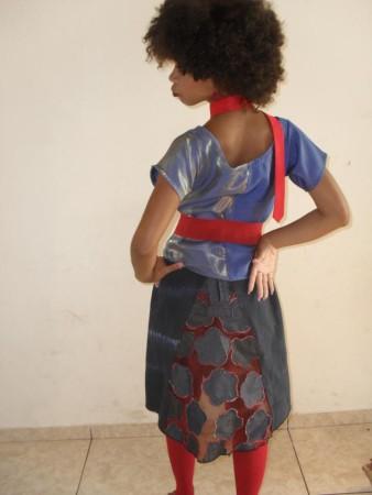 Isabel Cristina modelo Iara c roupa Criole Credito Isabel Cristina