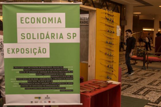 Abertura exposição Ecosol Conjunto Nacional SP Agosto Soliário Design Weekend