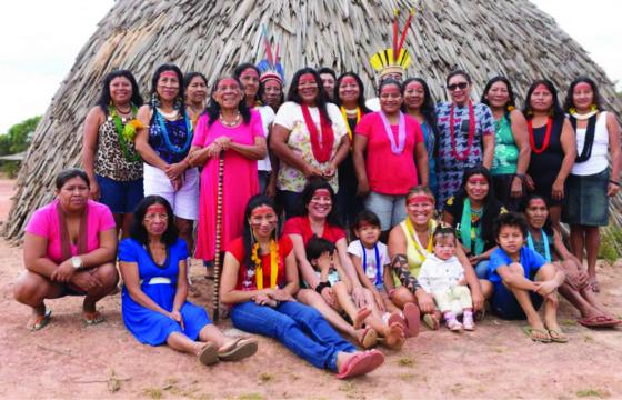 Refl Pol Georgia Projeto Territórios Indígenas terra indígena do Povo Bakairi Credito MiNC